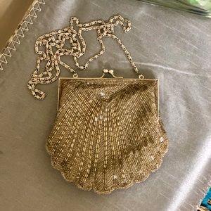 Valerie Stevens Handbag Mermaid Sequin Clutch